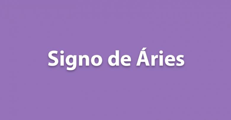 SIGNO DE ÁRIES DE HOJE