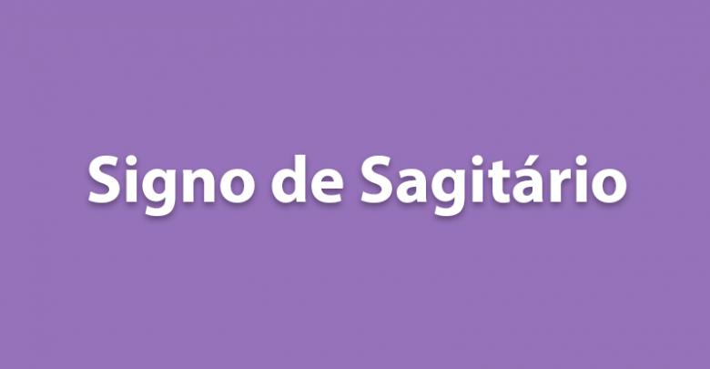 SIGNO DE SAGITÁRIO HOJE