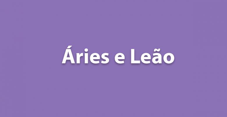Áries e Leão