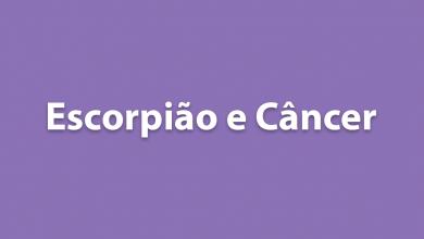 Escorpião e Câncer