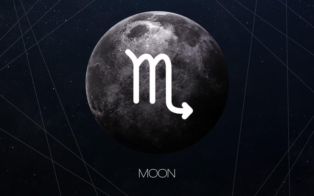 características da lua em escorpião